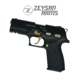 Liontori XZ-72 9mm Gold Black