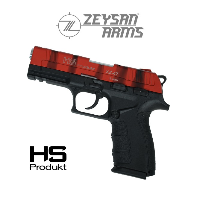 Hs Produkt XZ-47 9mm Army Red