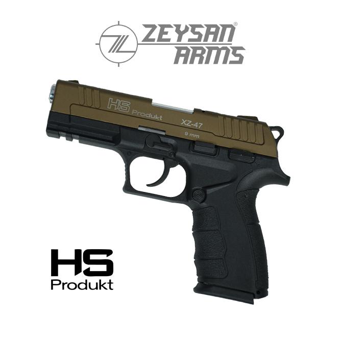 Hs Produkt XZ-47 9mm Highway Brown