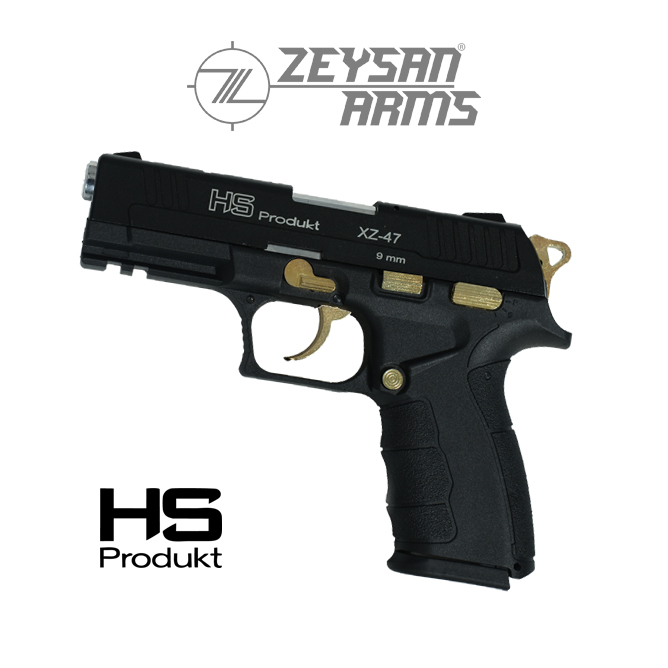 Hs Produkt XZ-47 9mm Gold Black