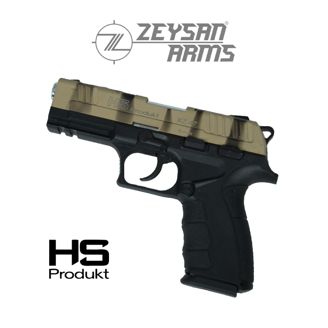 Hs Produkt XZ-72 9mm Army Sand