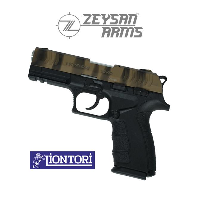 Liontori XZ-72 9mm Army Tan