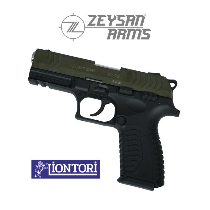 Liontori XZ-72 9mm Dark Olive Drab