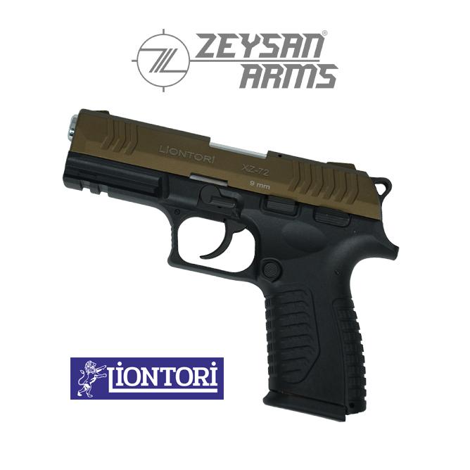 Liontori XZ-72 9mm Highway Brown