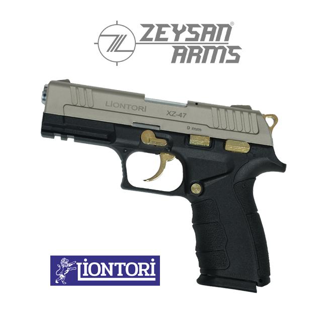 Liontori XZ-47 9mm Gold Metal