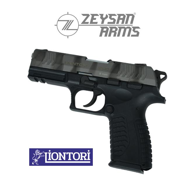 Liontori XZ-72 9mm Army Gray