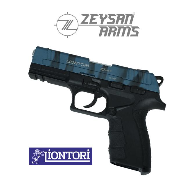 Liontori XZ-47 9mm Army Blue