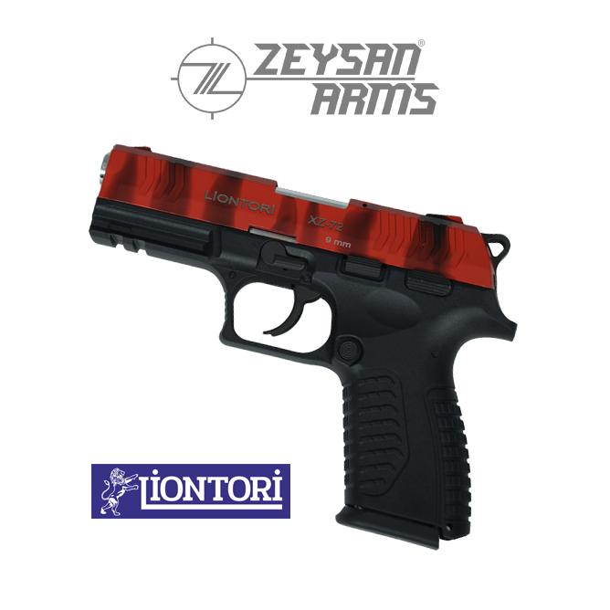 Liontori XZ-72 9mm Army Red
