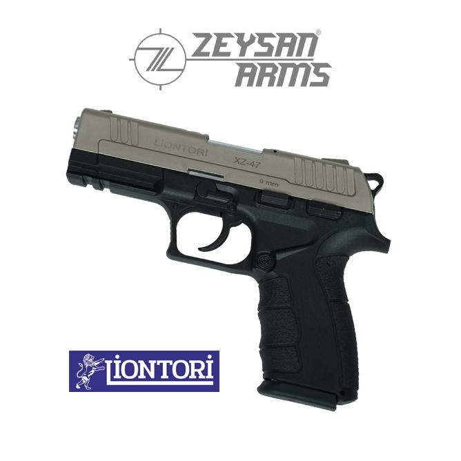Liontori XZ-47 9mm Light Gull Gray